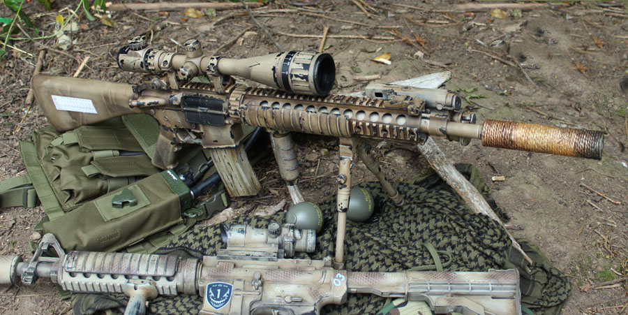 Specna Lone Survivor DMR Commission – GearTech