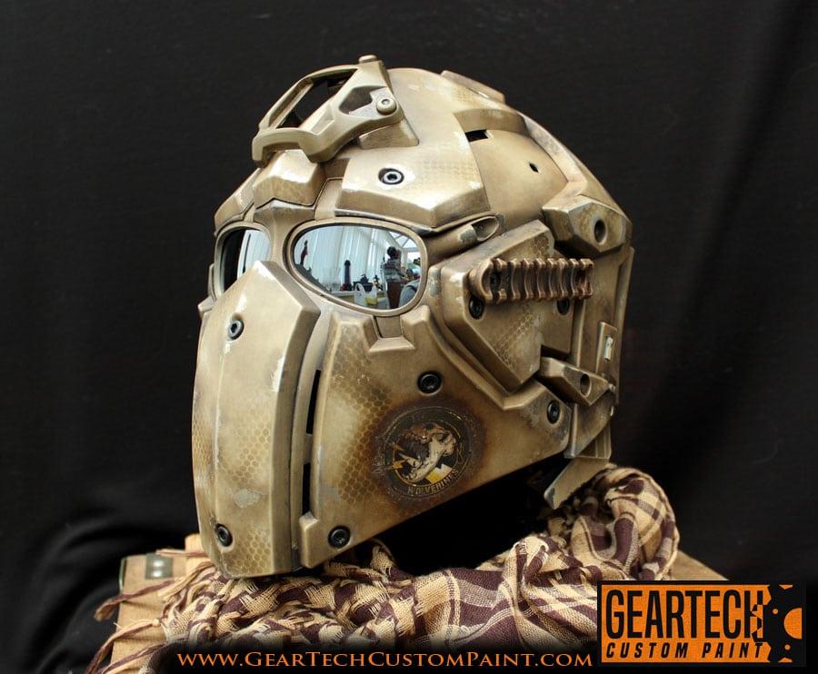 Custom Paint Mask