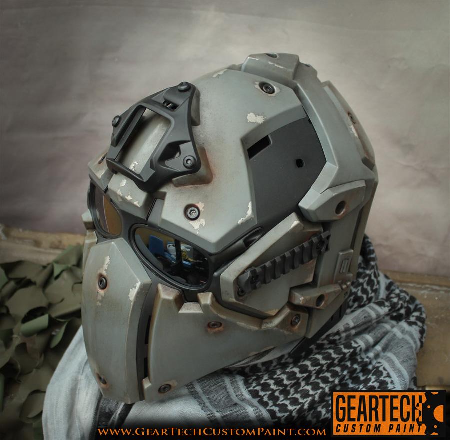 Geartech Custom Paint