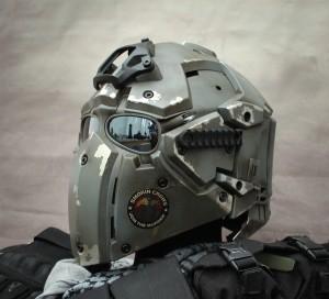 Smokin crows helmet 1