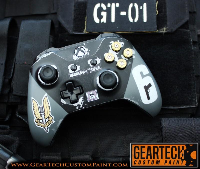 Xbox Rainbow 6 Siege Sas Custom Controller Geartech